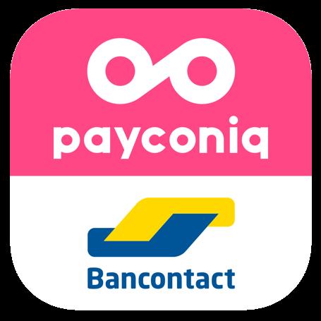 Betalen kan via BanContact en Payconiq
